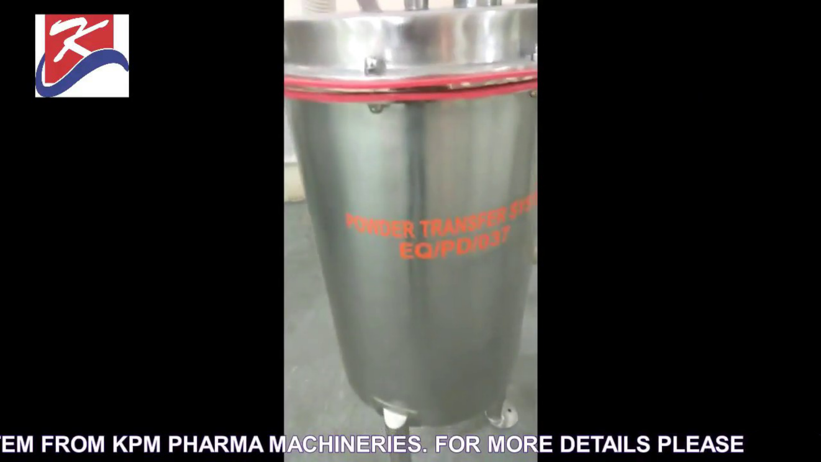 Octagonal Blender with Vacuum Powder Transfer System From KPM Pharma Machineries